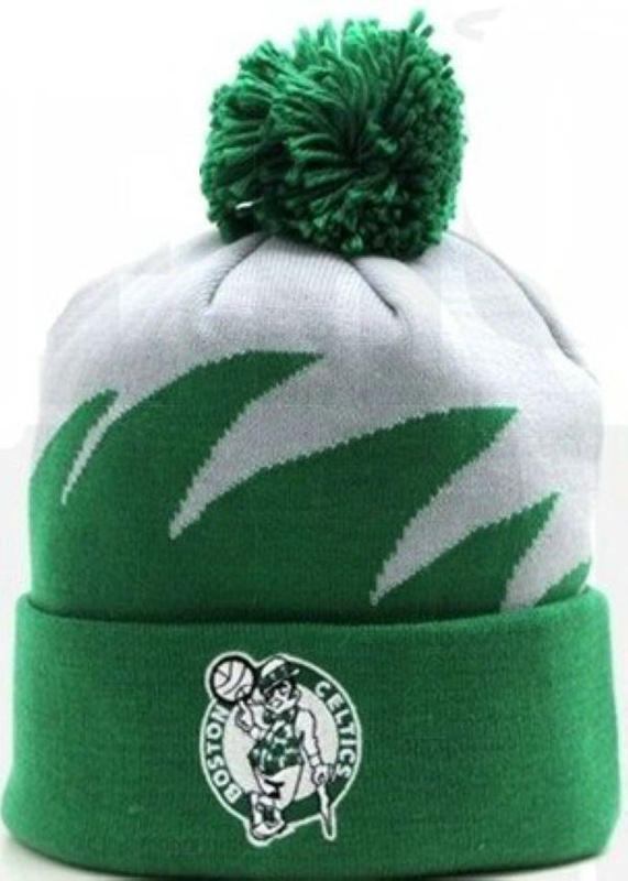 NBA Boston Celtics Mitchell&Ness Shark tooth Beanie JT