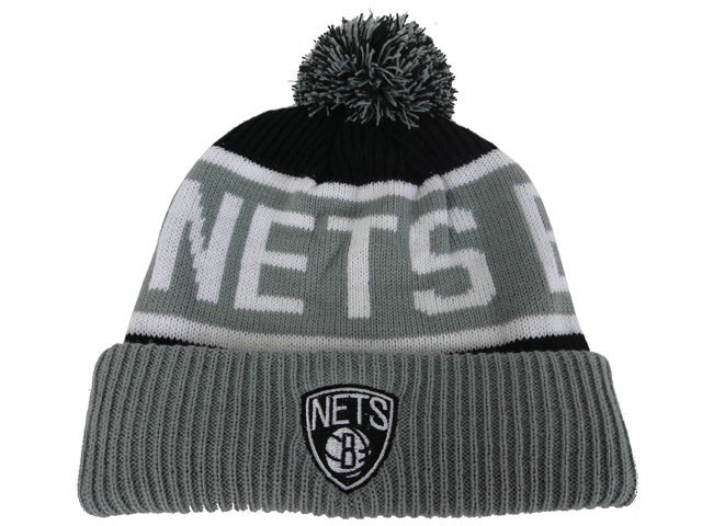 NBA Brooklyn Nets Beanie 1 DF