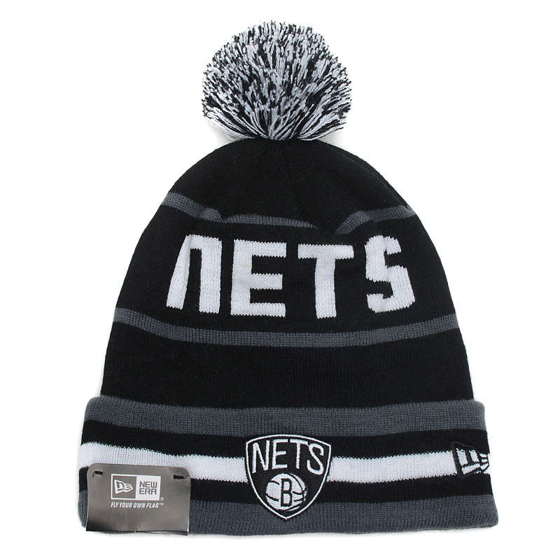 NBA Brooklyn Nets Black Beanie SD