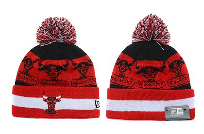 Chicago Bulls New Type Beanie SD 6f38