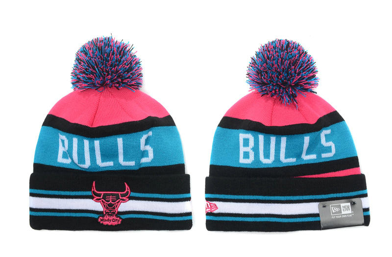 Chicago Bulls Stripe Beanie SD