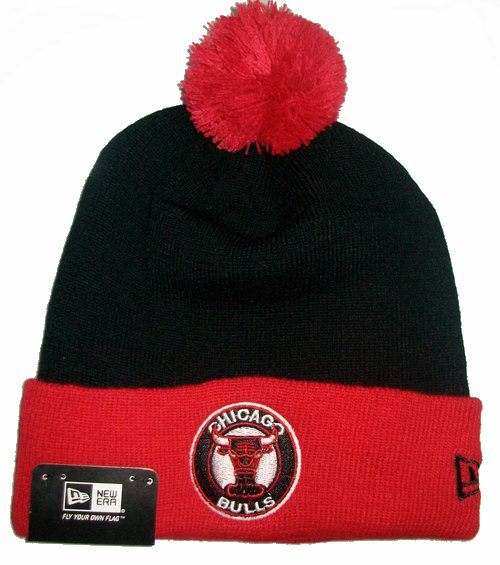 NBA Chicago Bulls Beanie Black 1 JT