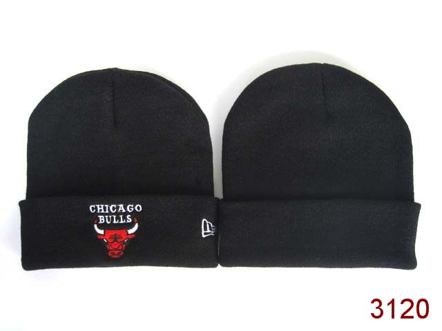NBA Chicago Bulls Beanie Black 2 SG