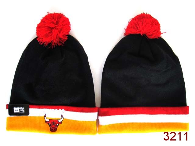 NBA Chicago Bulls Beanie Black 4 SG