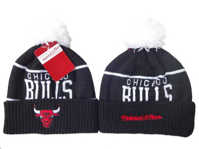 NBA Chicago Bulls Beanie Black DF