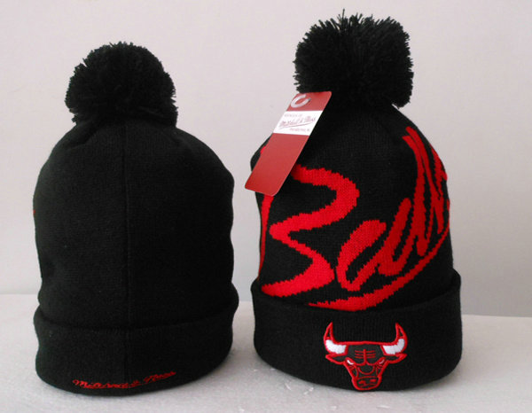 NBA Chicago Bulls Beanie Black SJ