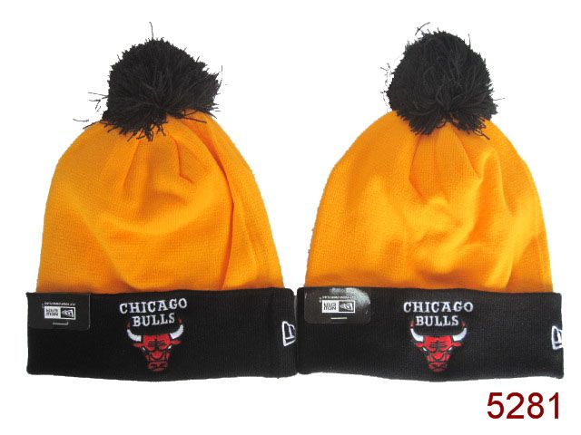 NBA Chicago Bulls Beanie Gold SG