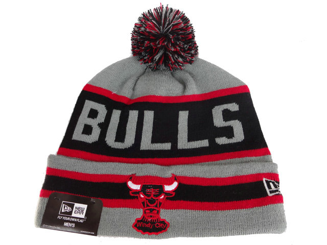NBA Chicago Bulls Beanie Grey DF