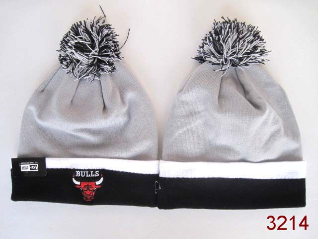 NBA Chicago Bulls Beanie Grey SG