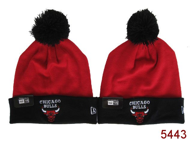 NBA Chicago Bulls Beanie Red 2 SG