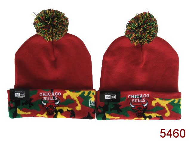 NBA Chicago Bulls Beanie Red 3 SG