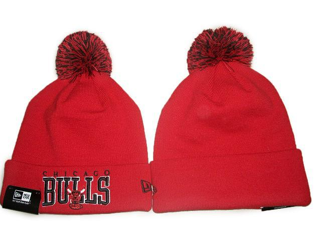 NBA Chicago Bulls Beanie Red JT