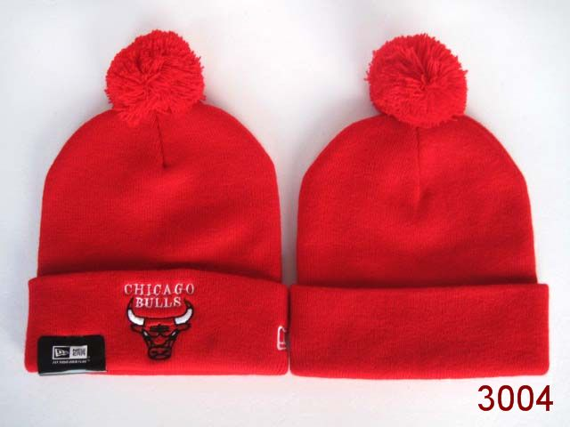 NBA Chicago Bulls Beanie Red SG