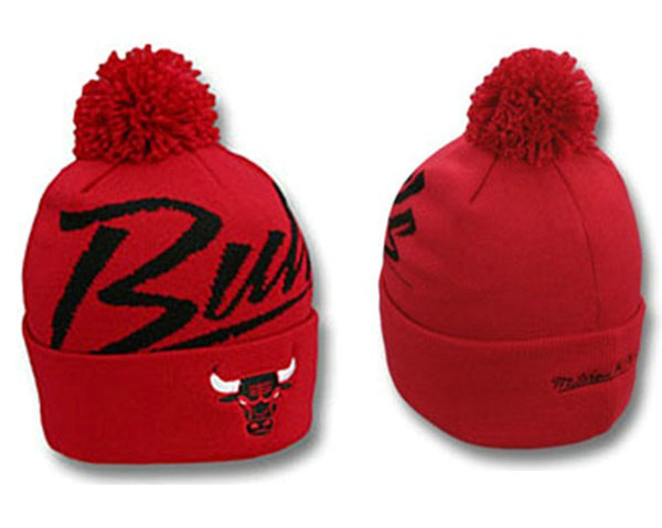 NBA Chicago Bulls Beanie Red SJ
