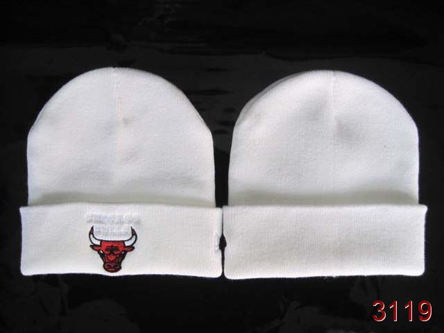 NBA Chicago Bulls Beanie White 1 SG