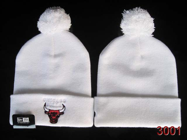 NBA Chicago Bulls Beanie White SG