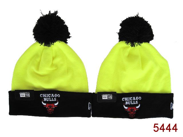 NBA Chicago Bulls Beanie Yellow SG