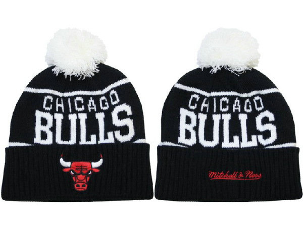 NBA Chicago Bulls Black Beanie 1 XDF