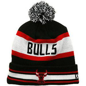 NBA Chicago Bulls Black Beanie XDF