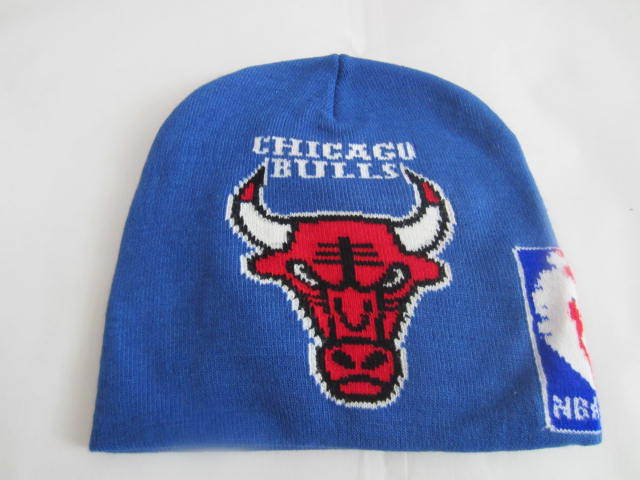 NBA Chicago Bulls Blue Beanie LX