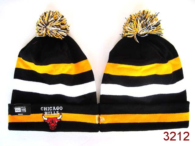 NBA Chicago Bulls Stripe Beanie 2 SG