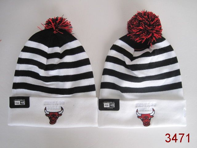 NBA Chicago Bulls Stripe Beanie 4 SG