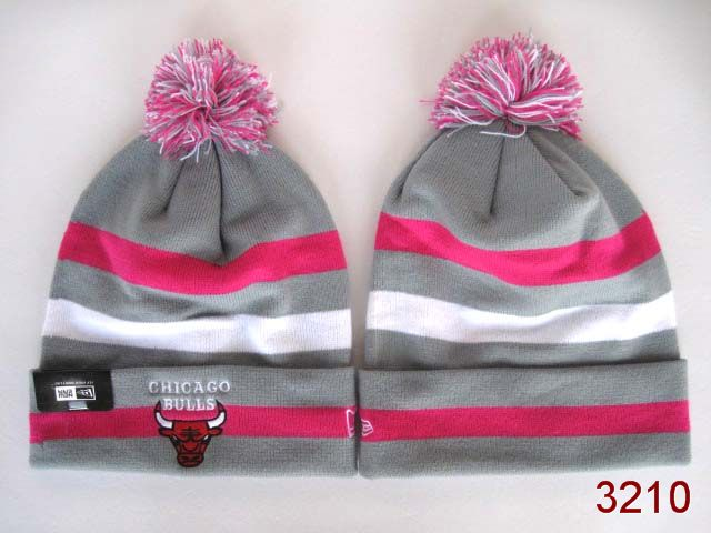 NBA Chicago Bulls Stripe Beanie 5 SG