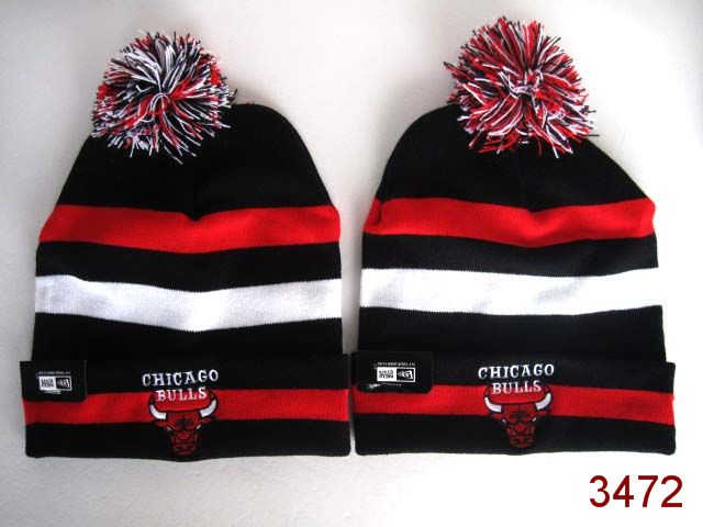 NBA Chicago Bulls Stripe Beanie SG