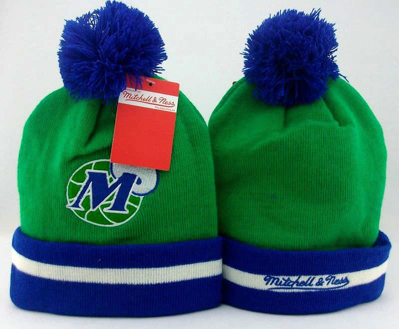 NBA Dallas Mavericks Green Beanie JT