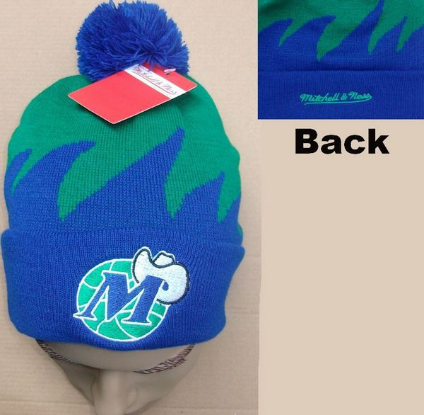 NBA Dallas Mavericks Mitchell&Ness Shark tooth Beanie JT