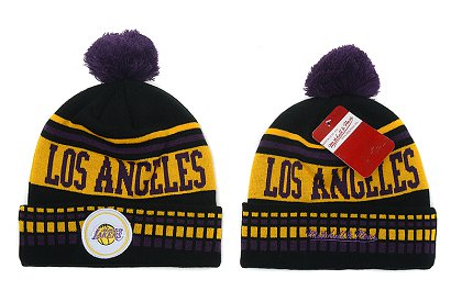 Los Angeles Lakers New Type Beanie SD 6f14