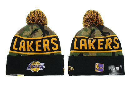 Los Angeles Lakers New Type Beanie SD 6f37