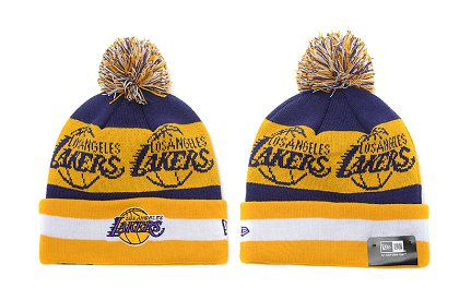 Los Angeles Lakers New Type Beanie SD 6f39