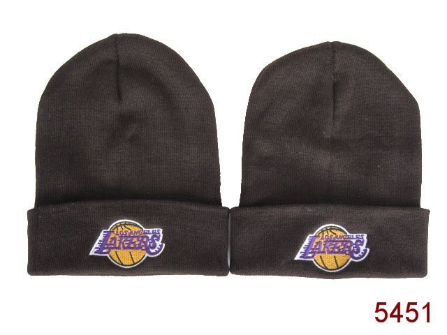 NBA Los Angeles Lakers Beanie Brown SG