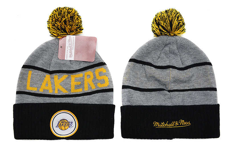 NBA Los Angeles Lakers Beanie Grey SD