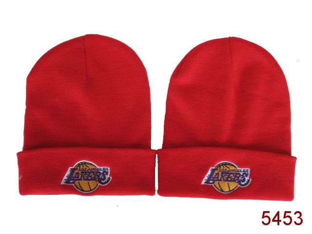 NBA Los Angeles Lakers Beanie Red SG