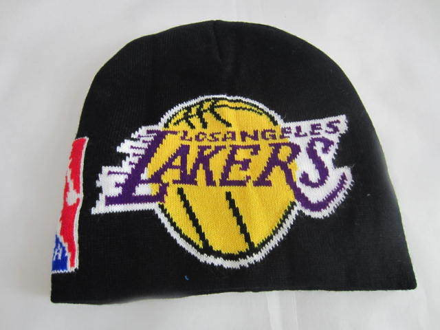 NBA Los Angeles Lakers Black Beanie LX