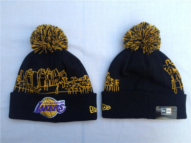 NBA Los Angeles Lakers Black Beanie SF