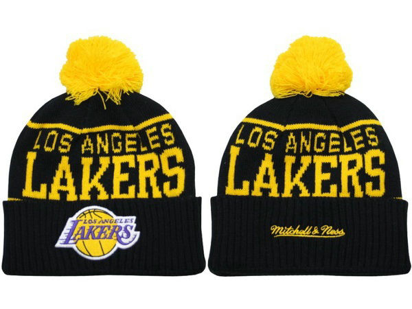 NBA Los Angeles Lakers Black Beanie XDF