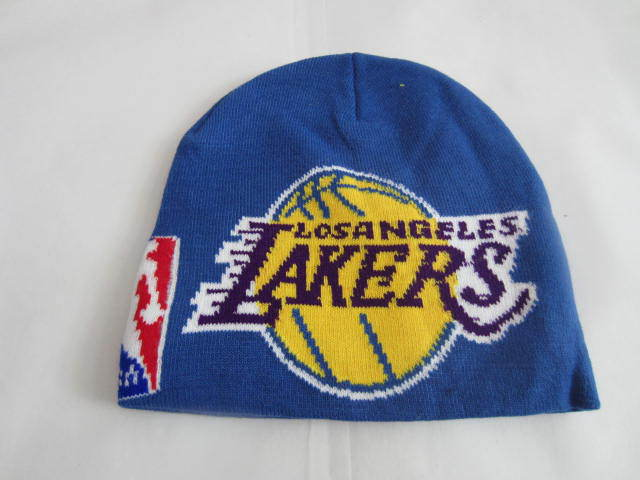 NBA Los Angeles Lakers Blue Beanie LX