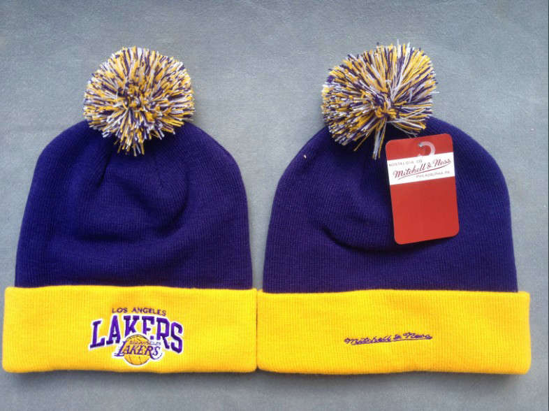 NBA Los Angeles Lakers Purple Beanie SF