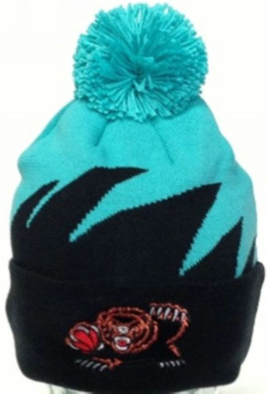 NBA Memphis Grizzlies Mitchell&Ness Shark tooth Beanie JT