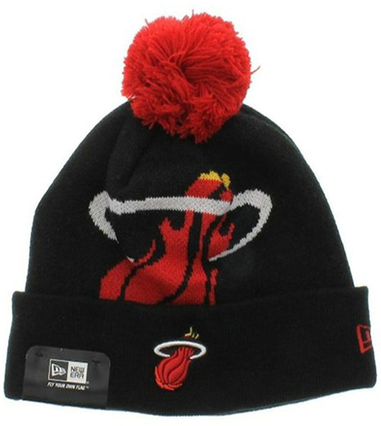 NBA Miami Heat Beanie Black 1 SJ