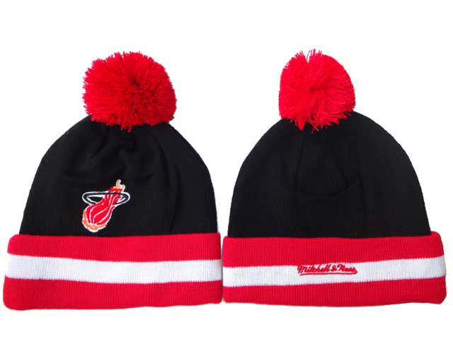 NBA Miami Heat Beanie Black DF