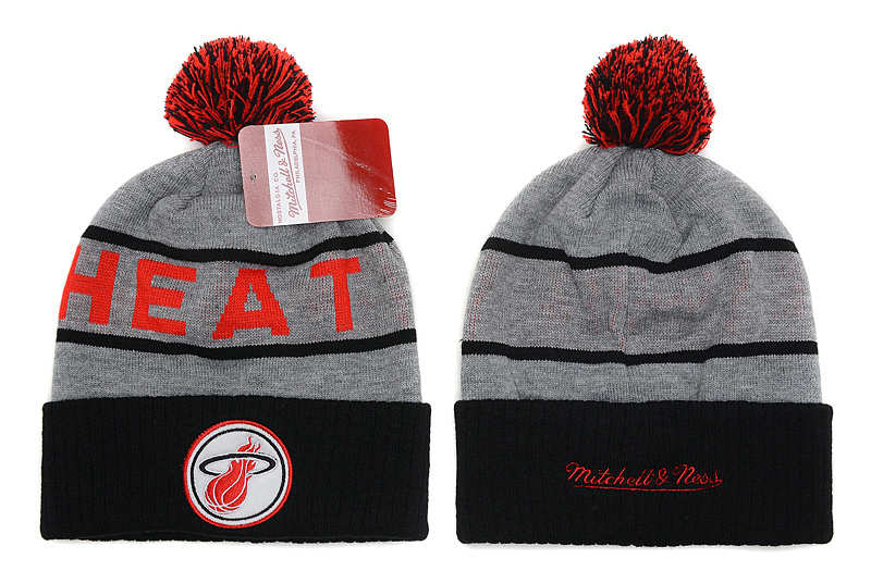 NBA Miami Heat Beanie Grey SD