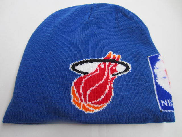 NBA Miami Heat Blue Beanie LX