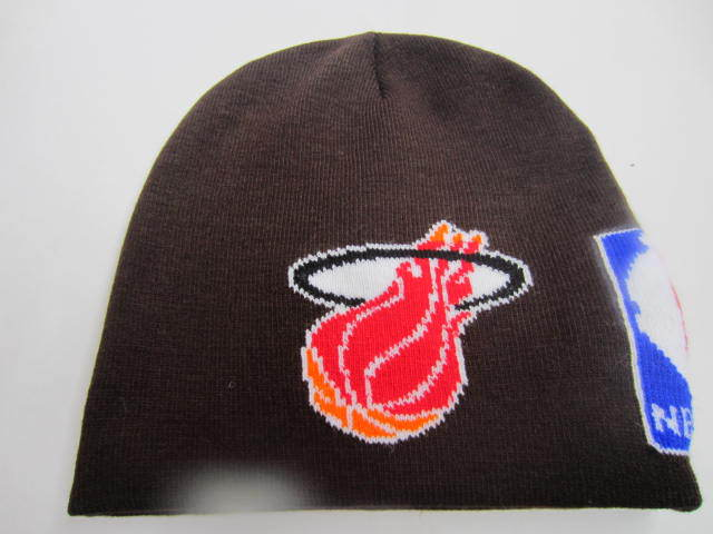 NBA Miami Heat Brown Beanie LX