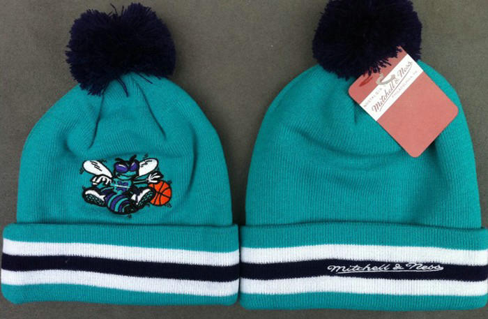 NBA New Orleans Hornets Blue Beanie 1 JT