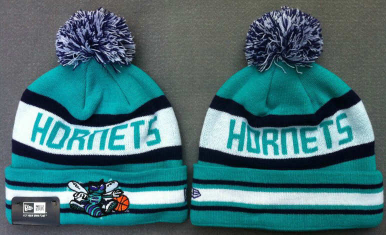 NBA New Orleans Hornets Blue Beanie JT