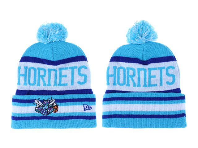 NBA New Orleans Hornets Blue Beanie LX